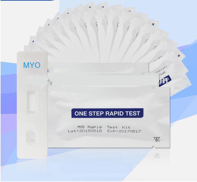CE Certificate IVD Cardiac marker MYO Myoglobin Rapid test kit MYO diagnosticTest cassette