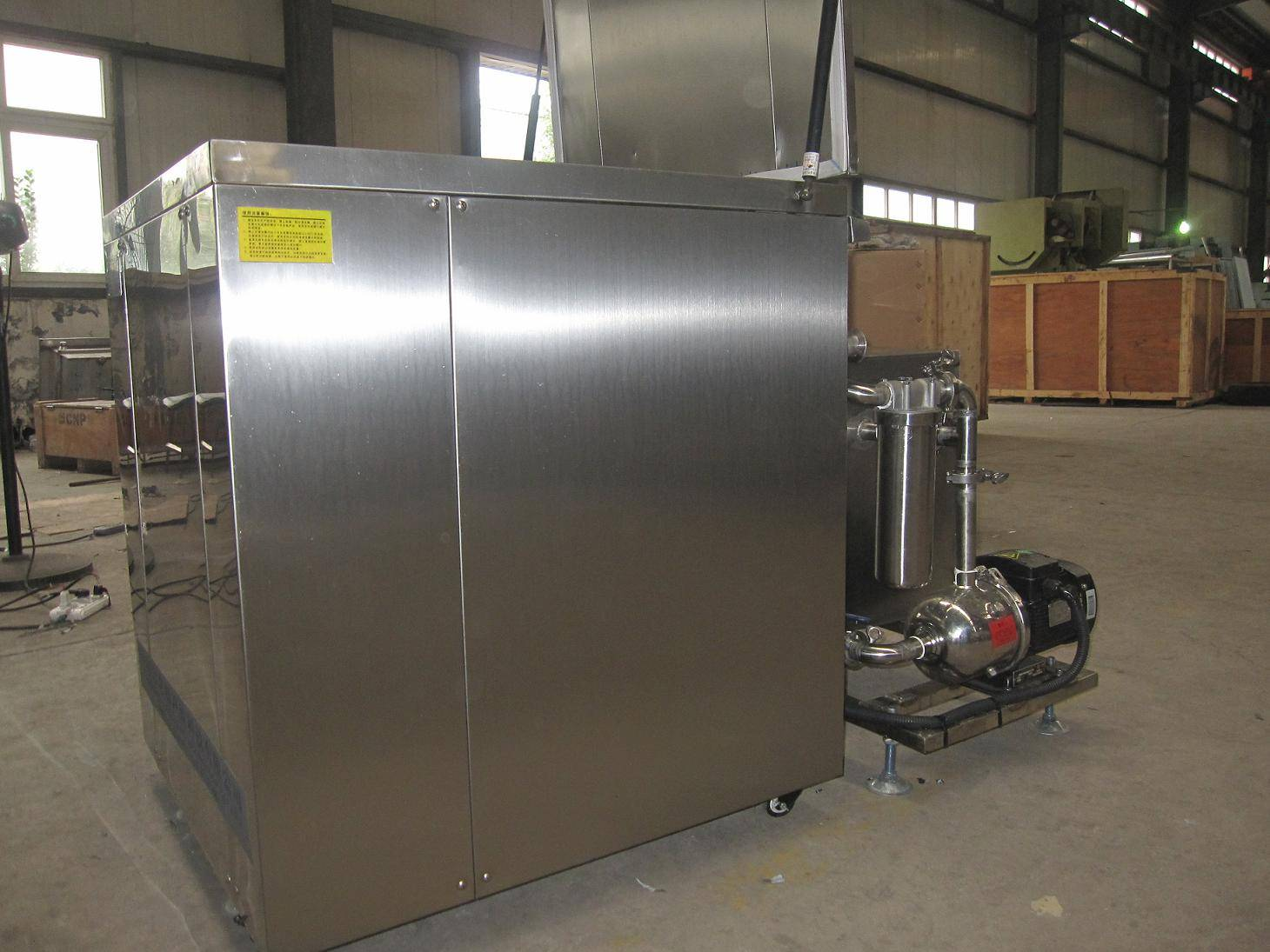 Diesel engine cleaning machine