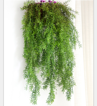 plastic wall hanging artificial foliage vine decoration