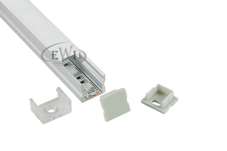 U type aluminium profile for led strips lighting