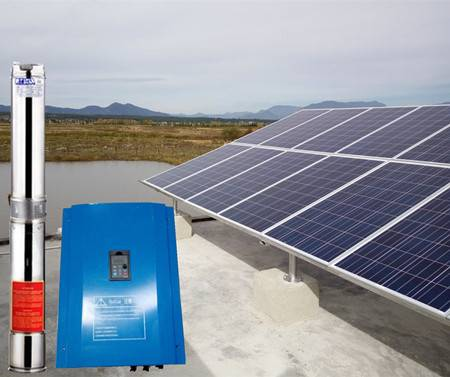 Top quality warranty solar water pump 2HP China manufacturer