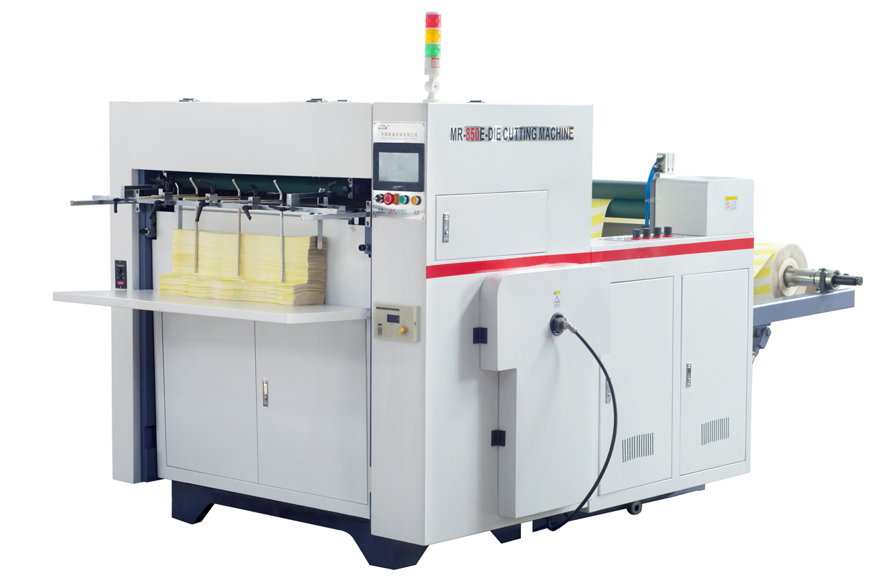 Automatic die cutting machine for paper cups