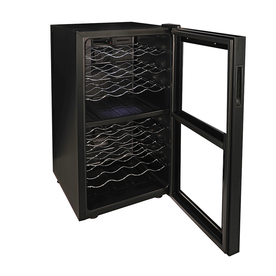78L Wine Refrigerator with Dual Temperature Zone (4 Bottle x 8 Levels)
