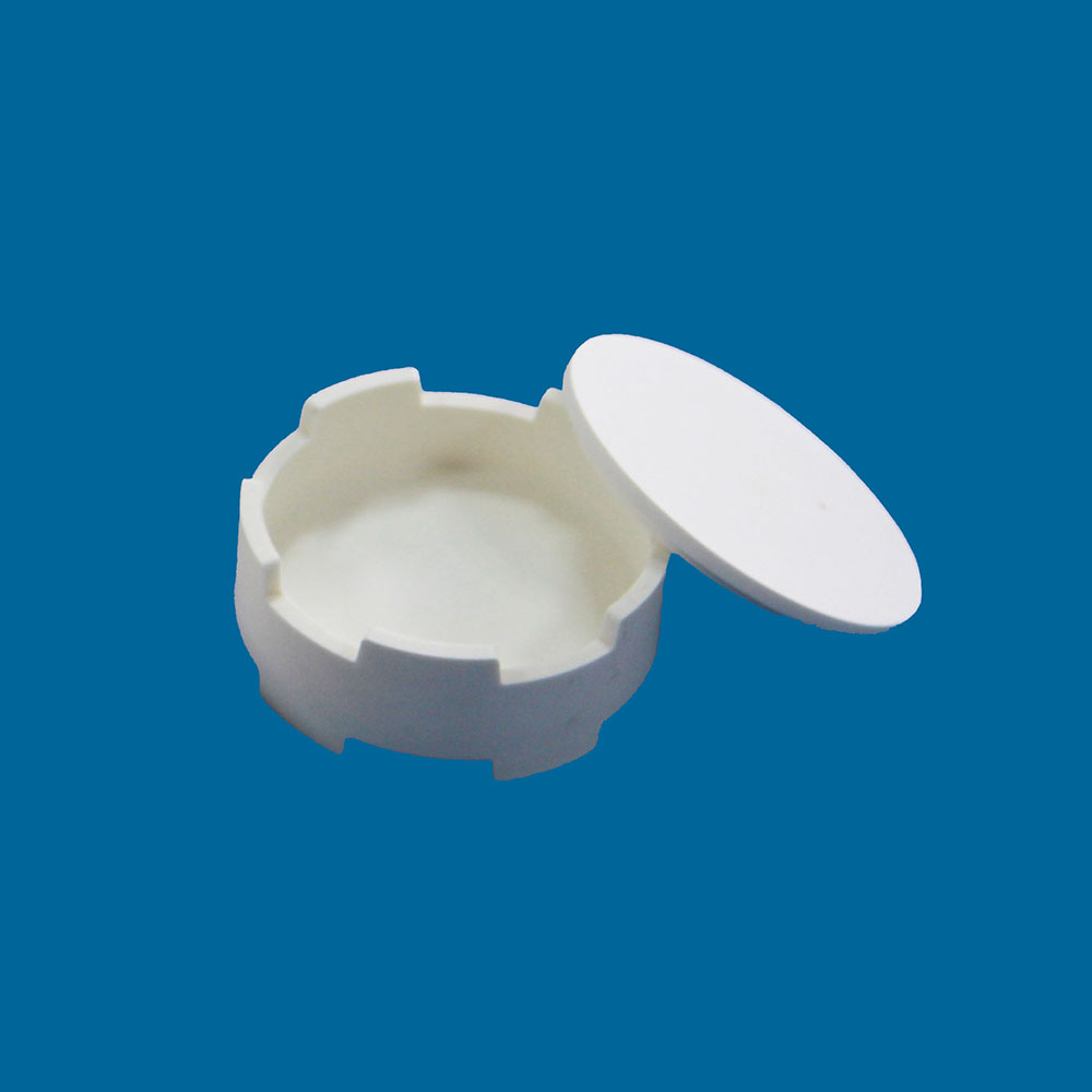 Dental lab zirconia sintering crucible