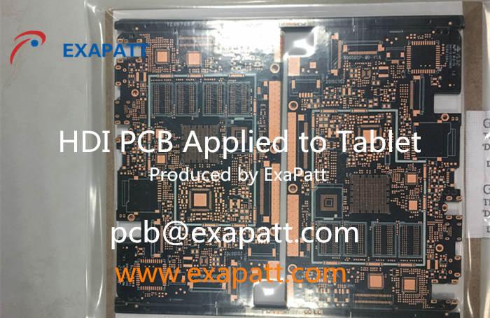 Tablet PCB, multilayer PCB