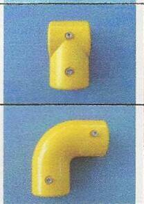 GRP PULTRUDED PROFILES WITH FIBERGLASS FITTINGS