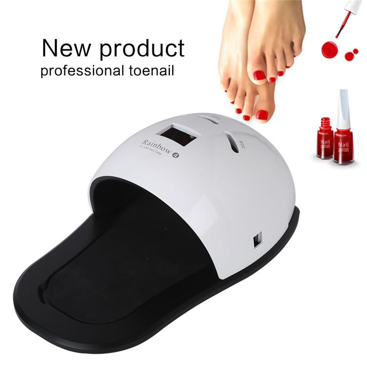 2018 New 48W UV LED Foot Nail Lamp nail Curing Led Gel Nail lamp With Auto Sensing