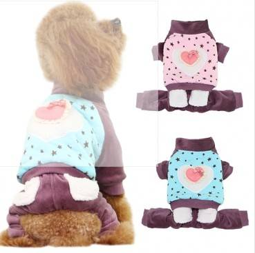 2015 cheap 100% cotton dog clothes dog clothing dog coat wholesale