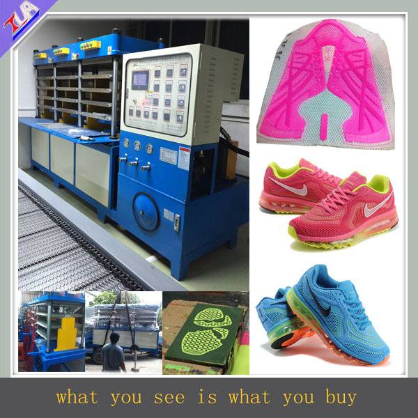 kpu shoes upper cover making machine for factory
