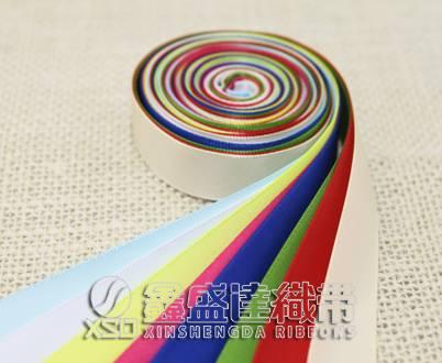 printed satin ribbon,polyeter staple fiber satin ribbon
