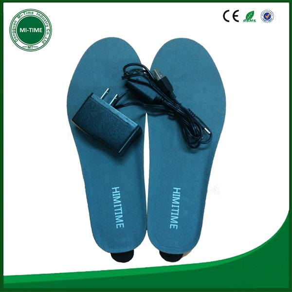 Newest mobile phone bluetooth App controlled battery heating insole
