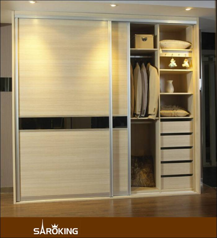 Customer Design Wooden  Bedroom Wardrobe