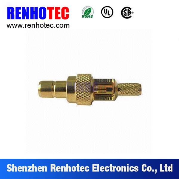 high quality Automotive SMB connector rf coaxial connector for rg147 cable wire assembly