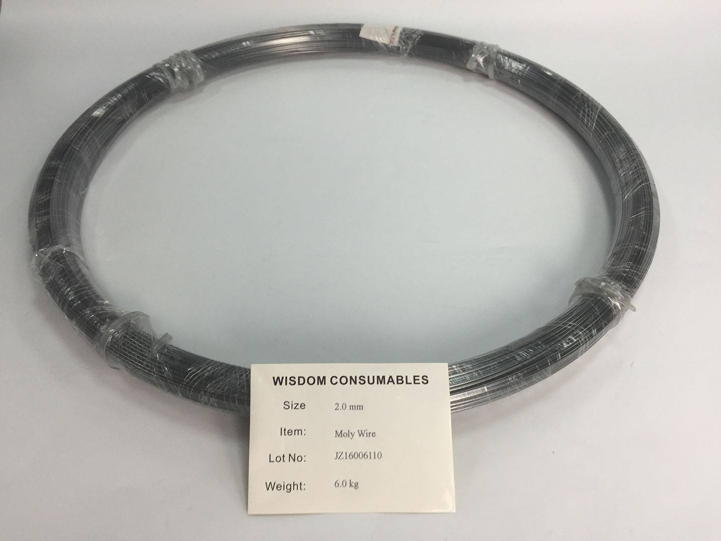 Molybdenum wires for thermal spraying, equal to TAFA 13T, Metco Spraybond