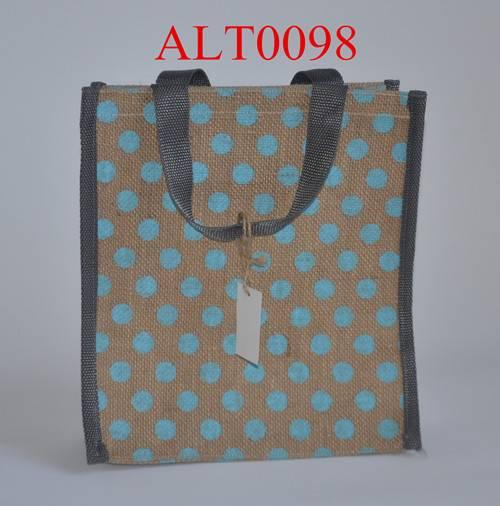 Rectangular Jute handbag