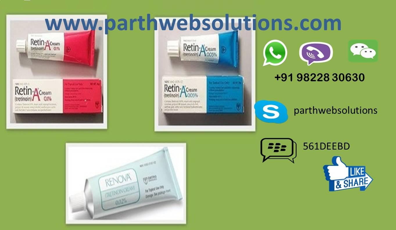 Retin-A, Renova (Tretinoin Cream 0.01%, 0.05% )