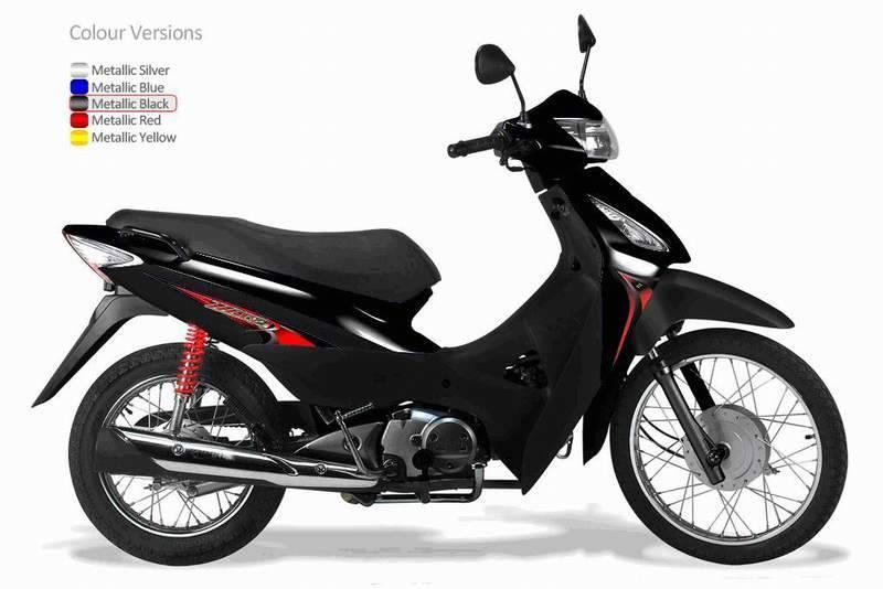 110/125cc EEC Honda style Cub
