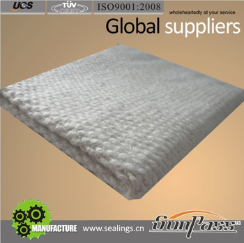 Insulation Refractory Cloth With Metal Reinforced Ceramic Fiber Cloth
