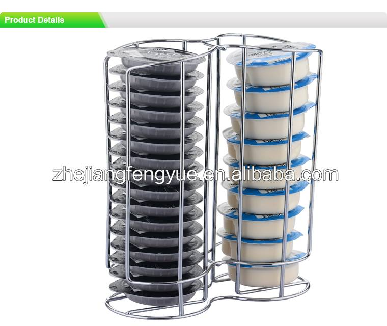 coffee capsule storage rack for Tassimo