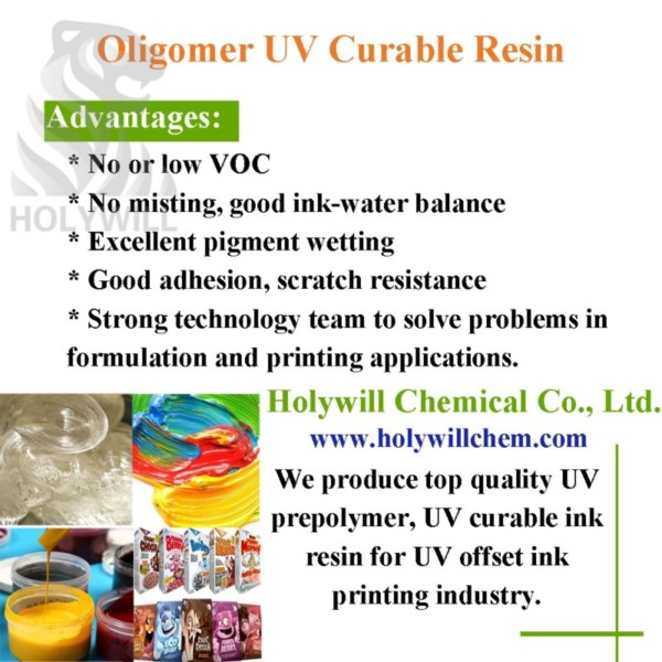 UV Offset Ink Resin With Rapid Curing Speed UVP30
