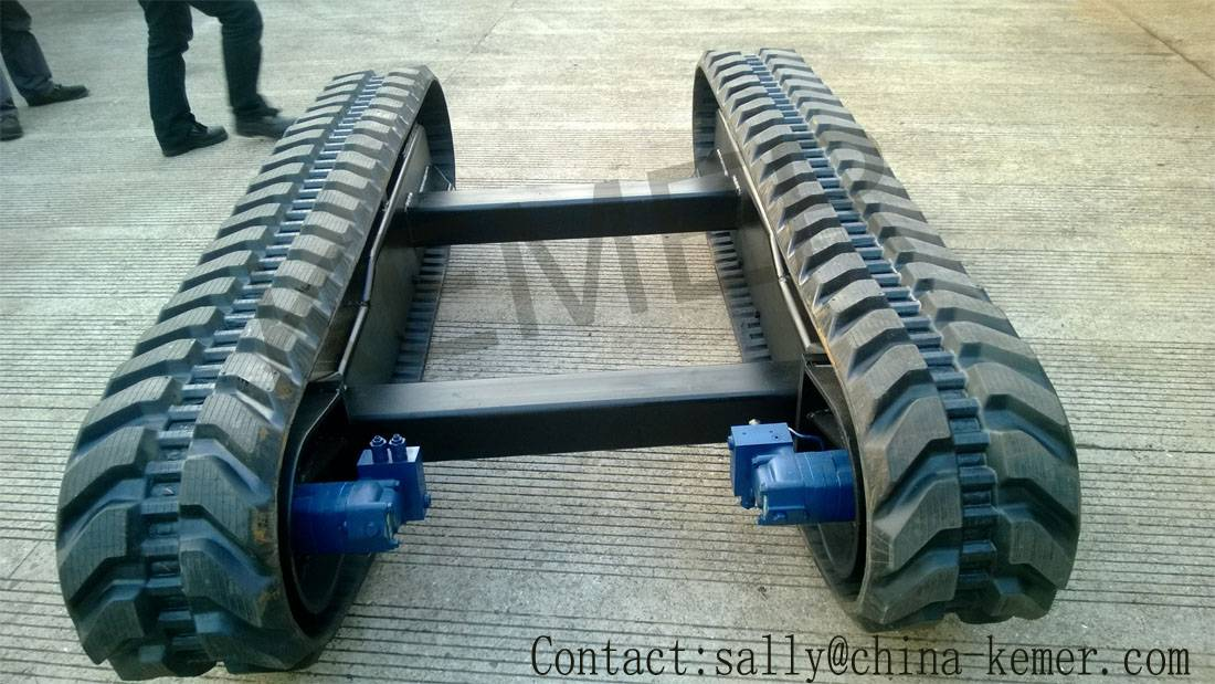Rubbertrack chassis /rubber track kits
