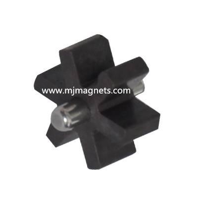 plastic injection bonded sensor magnet for water meter