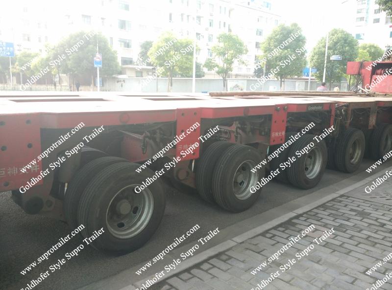 Heavy duty trailer, Goldhofer trailers, Platform trailer