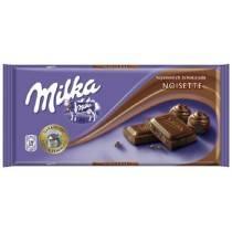 MILKA 100G NOISETTE CHOCOLATE
