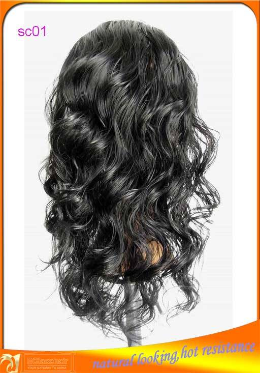 Wholesale Cheap Hot Resistance Synthethetic Lace Front Wigs