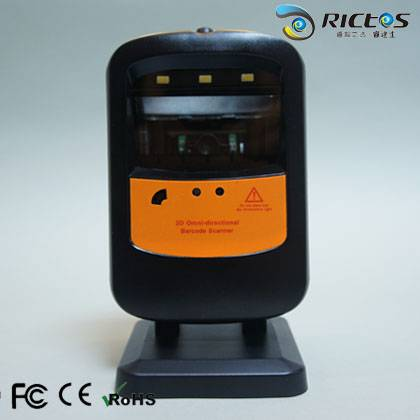 Hand Free Desktop 2D CMOS Image Barcode Scanner Barcode Reader