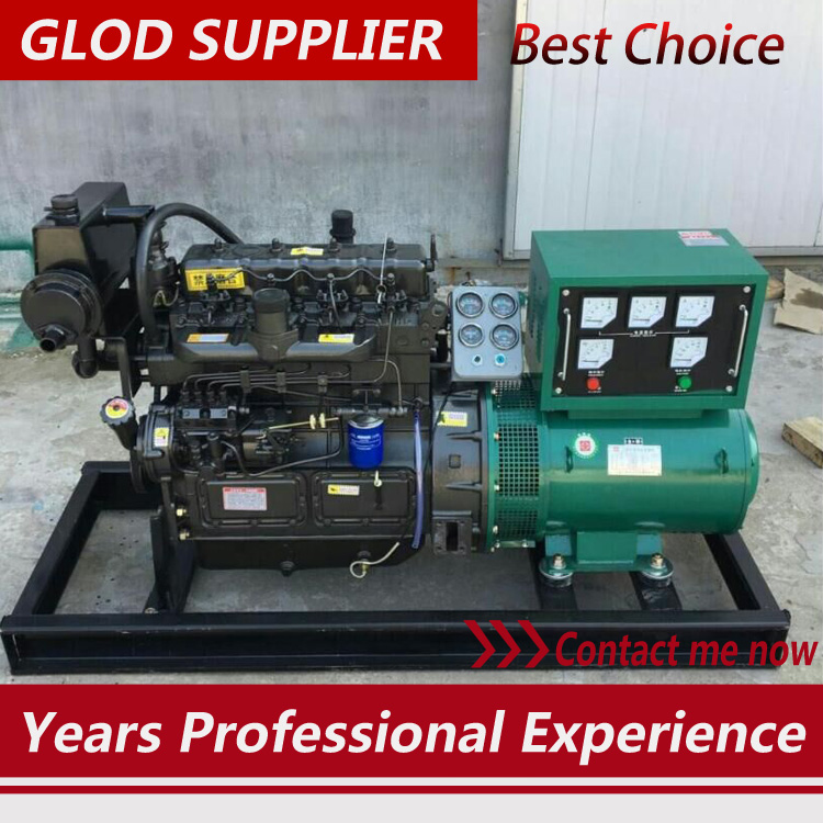 marine diesel generator 30kw with 4 cylinder diesel engine,competitive price