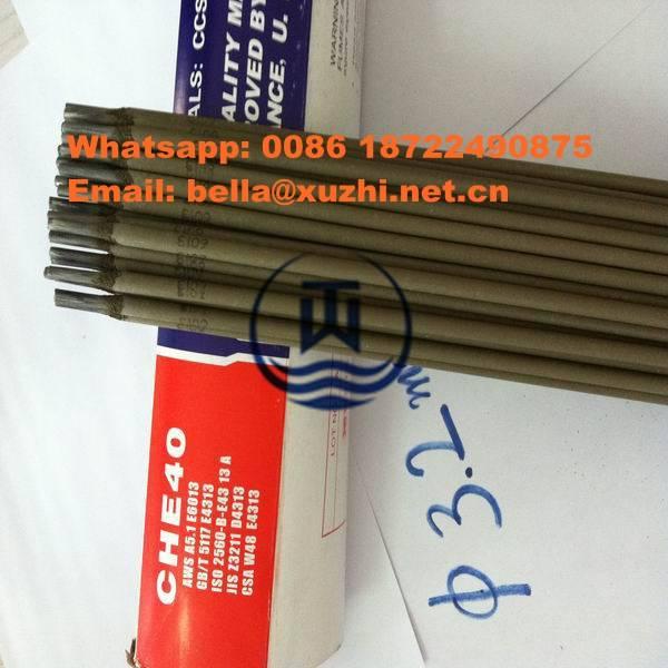 Inconel 4mm welding rod E7018/E310/E4043/J422,golden bridge welding electrode e6013