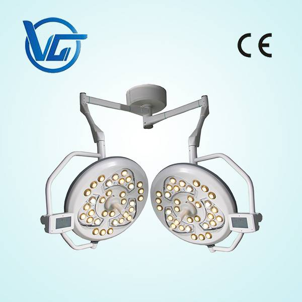 Double heads surgical ceiling Light