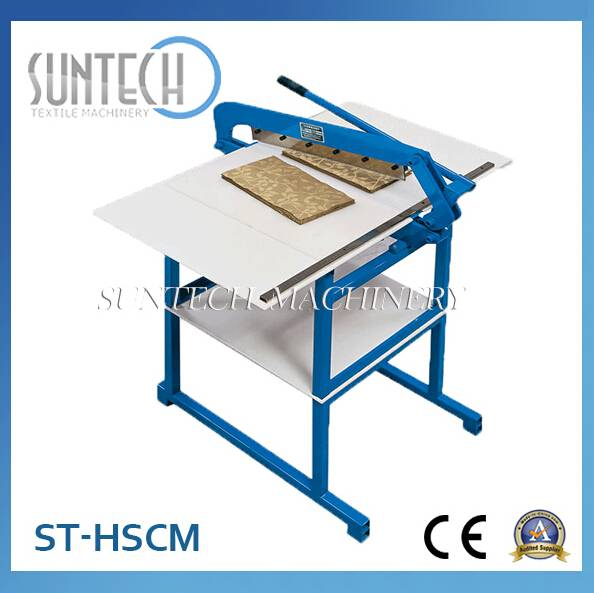Fabric Sample Cutting Machine Hand Type (ST-HSCM)