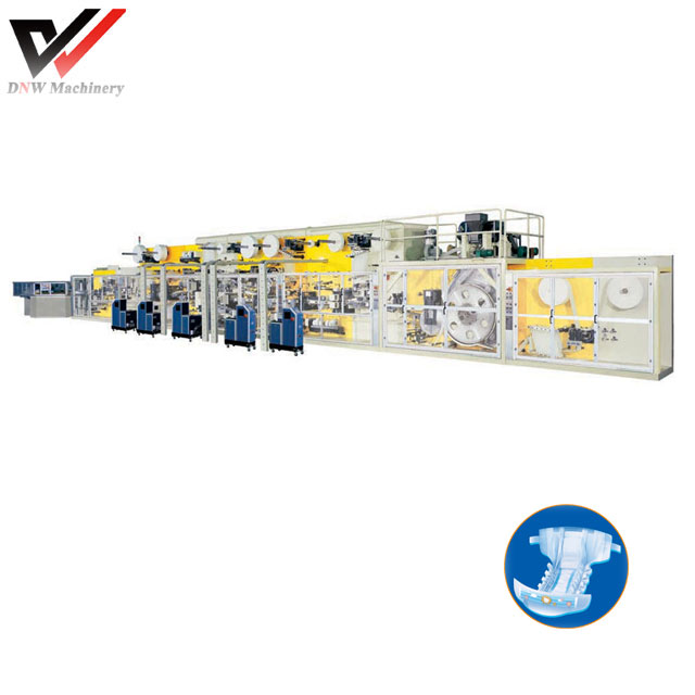 High Speed Baby Diaper Production Line