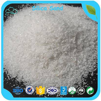 Factory Price High Purity Low Iron Silica Sand For Glass