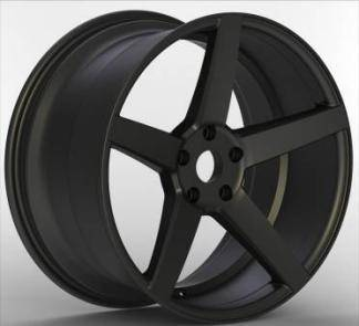 19 inch black and silver finishing alloy wheel rims for cars