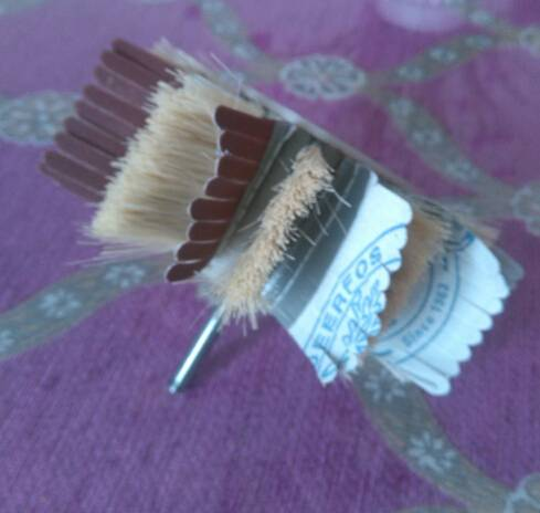 sisal sanding brush