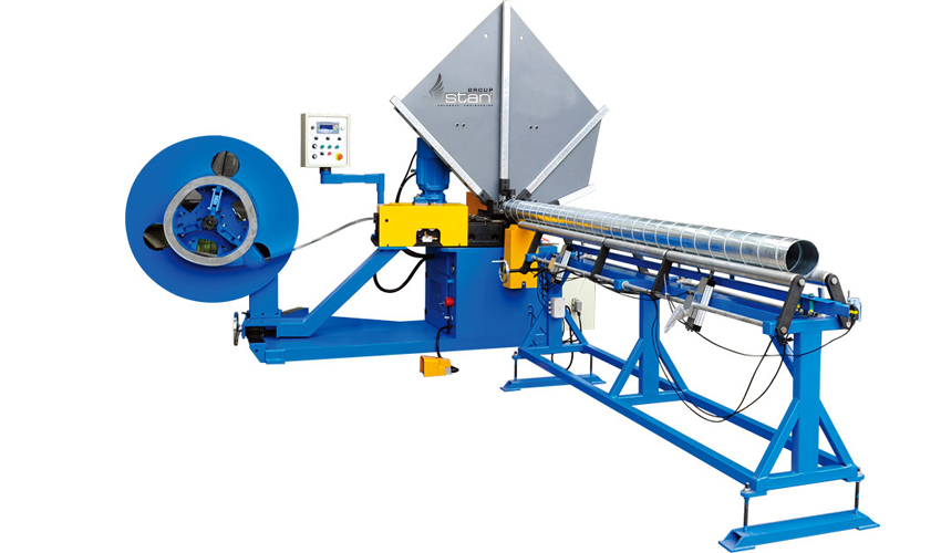 Sell Spiral Tubeformer With Slitting System