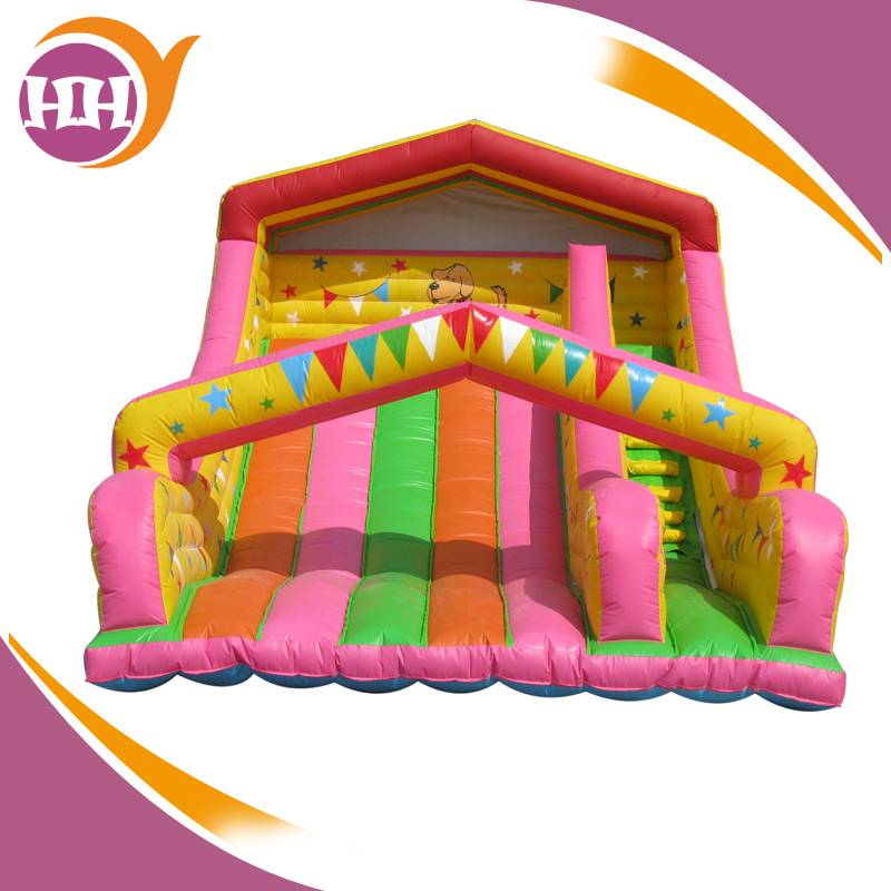popular inflatable slide with blower