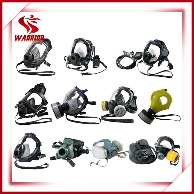 Chemical respirator gas mask