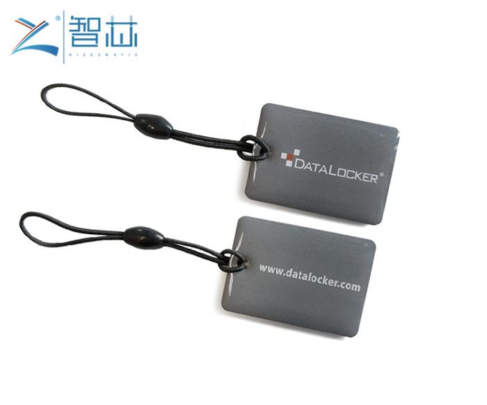Epoxy RFID Key Tag With Customer Printing