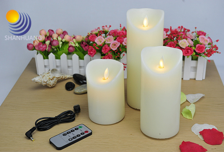 Led Promotion Gifts 3D Flashing Candles for All Kinds of Parties