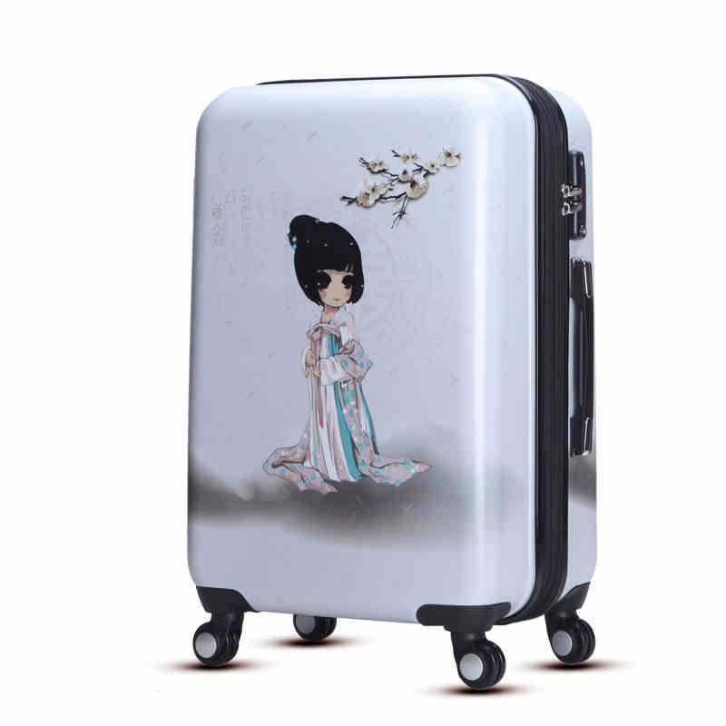 superlight luggage in imported ABS PC