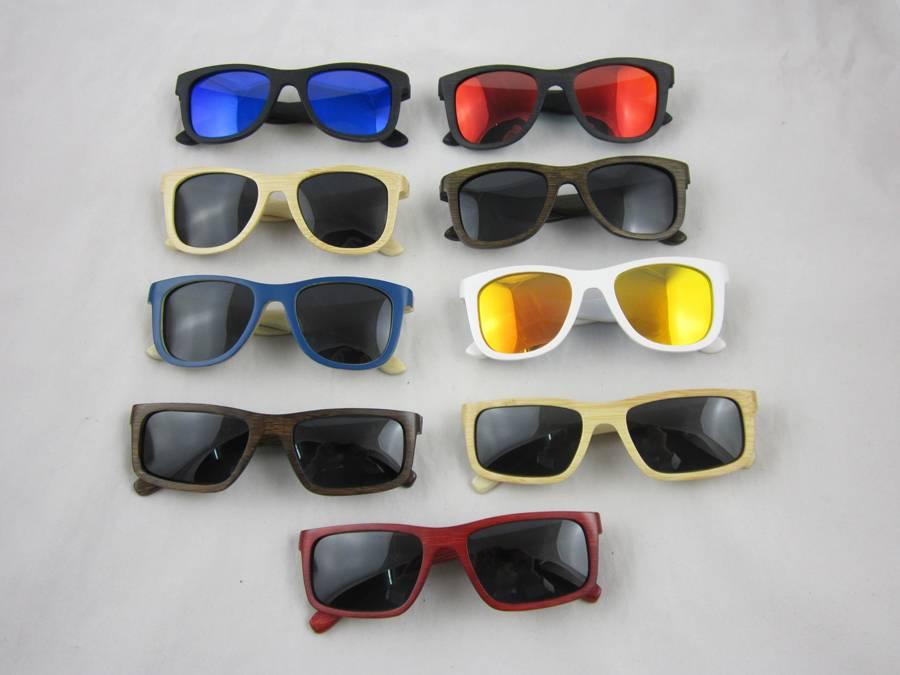 wholesale Fashion chidren bamboo sunglasses in china