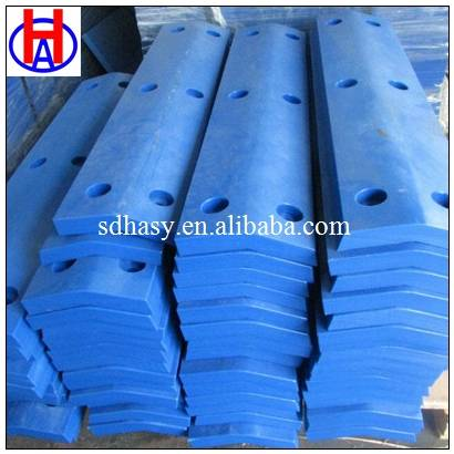 UHMWPE plastic marine fender face pad with any color