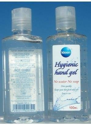 waterless instant Hand sanitizer