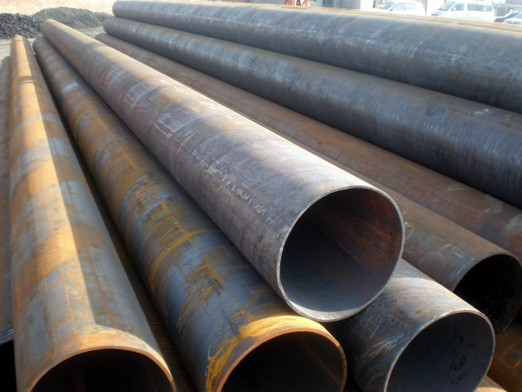 Q235B SS400 welded pipe ERW LSAW SSAW welded pipe