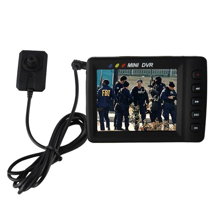 Portable HD Police Body Camera Wireless Audio/Video Recording