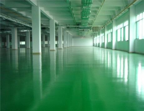 Waterborne epoxy floor floating coating